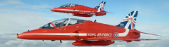 The RAF Aerobatic Team, The Red Arrows, is one of the world's premier aerobatic display teams.